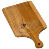 Chicago Cutlery Woodworks 14-by-7-Inch Paddle Cutting Board