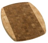 Totally Bamboo Kalahari Parquet End Grain Cutting Board